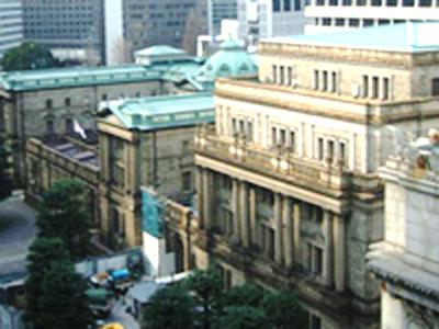 日本銀行の免震工事