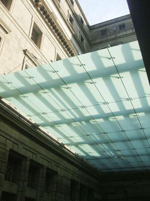 建物自体の免震化に伴い新たに空間が確保